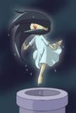 貞子、深夜のテンション。
