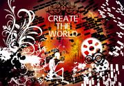 【オリジナル&二次創作】イメージコラージュ『Create the world』