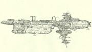オロチ型弩級機動要塞「自作艦」