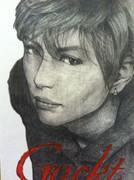 【模写】 Gackt B-PASS掲載イラスト 【鉛筆画】
