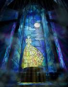 night singing glass