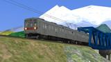 【RailSim】 鉄橋を渡る長電車