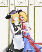 ヤンデレアリスと魔理沙人形