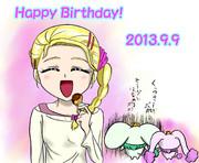 ひかりちゃんHappy Birthday!2013