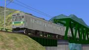 【RailSim】 鉄橋を渡る秩鉄