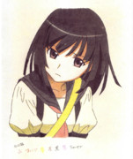 【色鉛筆模写】千石撫子