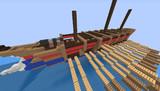 ガレー船 今日の進捗