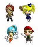 RPG★2頭身キャラたち