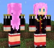 【Minecraft】天上ウテナさん(決闘衣装)スキン