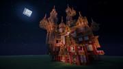 【Minecraft】お菓子の城