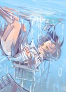 あぁ・・・水が入ってきた・・・冷たいな