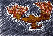 異次元世界のザリガニ