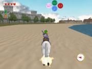 馬に乗ってリベルニアを走る