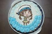 エラー娘ケーキ作ってみた