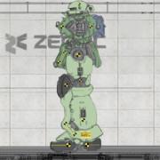 MS-06J 歩行デモンストレーション