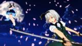 咲夜vs妖夢(ブラーあり)