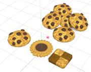 クッキー 巾着 アクセ