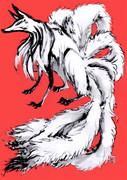 九尾の狐さま