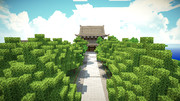 【Minecraft】 法堂(はっとう)。
