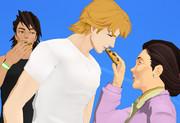 クッキーとグランマ【MMDタイバニ】