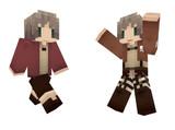 【Minecraft】エレンスキン【進撃の巨人】