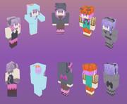 【Minecraft 】ハロウイン5色ゆかりさん