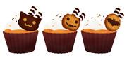 ハロウィン用のカップケーキ_ver1.1