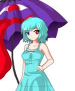 キャラクターなんとか機でつくってみた~多々良小傘~