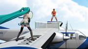 【第三回MMD航空祭】空中テニス