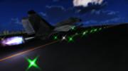 【第三回MMD航空祭】月下飛翔