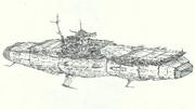 宇宙高機動航空母艦エルタニン「自作艦」