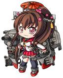 大和型戦艦、一番艦、大和。推して参ります!