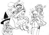(ラフ絵)THEカップリング!