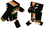 【Minecraft】黒にゃんこ【イメージ】
