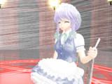 【MMD】hatching shader テスト【十六夜咲夜】