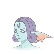 アモデウスの髪型