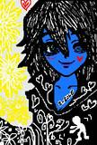 スーと菊の花