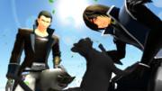 黒猫と双竜