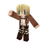 【Minecraft】アルミンスキン【進撃の巨人】