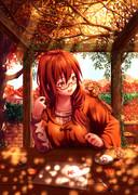 秋の勉強会とシマリス
