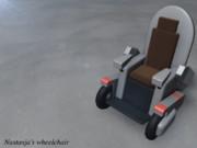 ナスターシャの車椅子