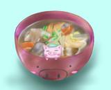 【らくがき】豚汁!!