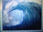 海!波!水しぶき!