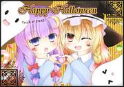 パチュ☆魔理HappyHalloween!!