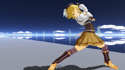 【MMD】【改変モデル】巴マミにずーっとこっちを見ながら踊ってもらった【モデル配布】