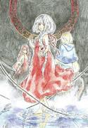 【手描き】 エルの絵本【魔女とラフレンツェ】