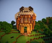【Minecraft】にえべさん風のおうち