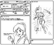 架空アニメ「疾風ガール」キャラ設定①「ちいちゃん」