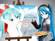 【MMD】芸術の秋