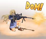 ムギちゃんとバレットM82!